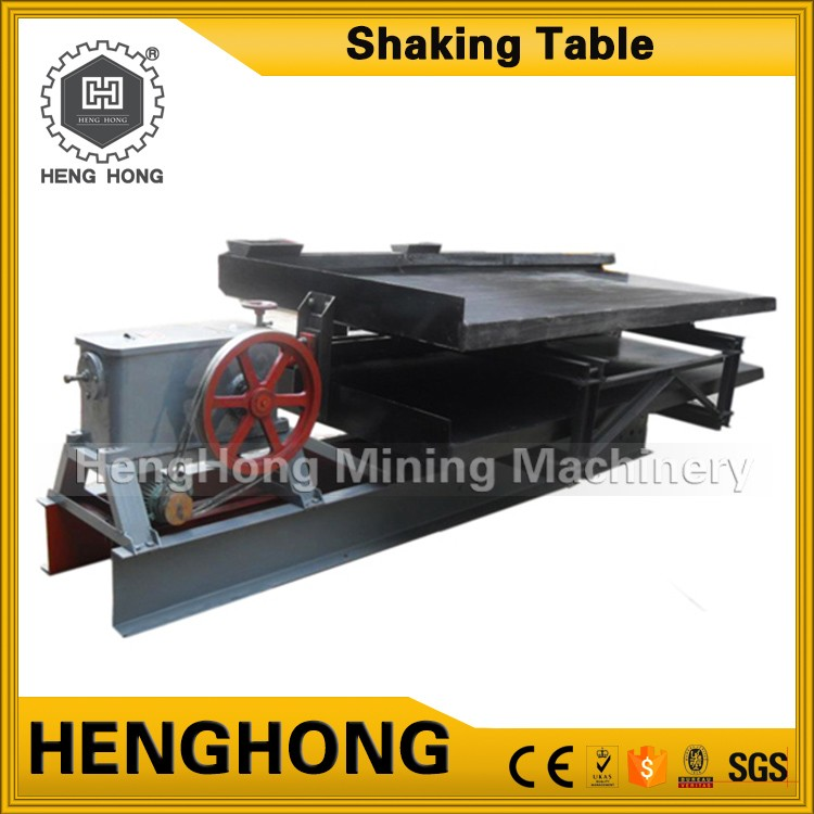 Hot sale beach sand gold sluice box gold shaker table mining companies