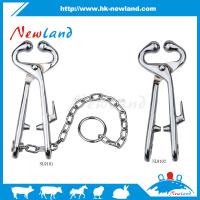 NL910 hot sales new type bull nose holders with chain bull nose leaders with chain