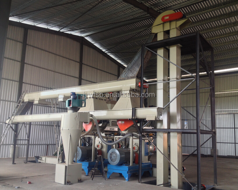 2018CE/ISO top quality 2-10 ton/h hot sale wood pellet machine/wood pellet plant