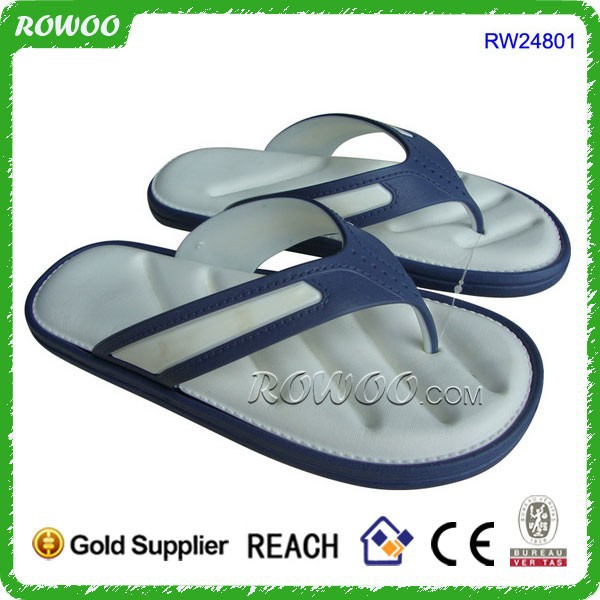 China made white memory foam EVA cheap plastic slipper importers