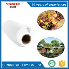 Environmental Water Proof Tear Resistant Printable Overhead Plastic Sheets