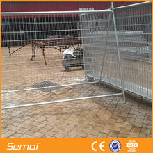 6ft high quality galvanized pvc coatead fence panels / temporary dog Fence