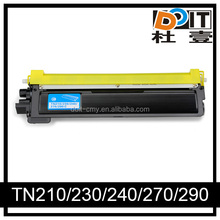alibaba stock Compatible toner cartridge TN210 for Brother printer