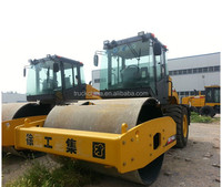 XCMG 16 Ton hydraulic single drum roller road roller soil compactor