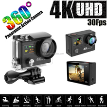 2.0 inch 170 Degree Lens SJ90000 H8R 4K Wifi Action Camera with 2.4G Remote Control action video cameras hd