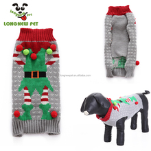 Dog Christmas Sweater Funny Christmas Pet Costumes High Quality Pet Stocking Pet Apparel