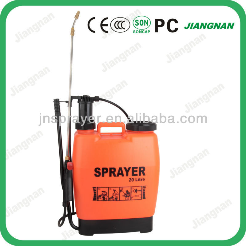 Hot Sell ! 20L Agriculture Manual Knapsack PE Sprayer Machine