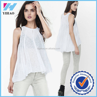 Yihao trade assurance latest tops designs girls lovely girls tops
