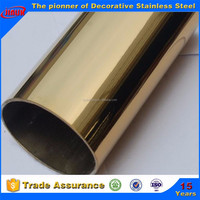PVD Gold Color ERW Pipe