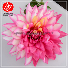 141030 Economic unique wedding flower artificial pink dahlia for wedding decorations