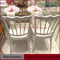 Simple hotel furniture cheap used stackable chairs napoleon