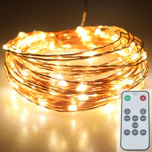 Most popular party decorative flexible copper wire outdoor patio programmable christmas tree led light bulbs