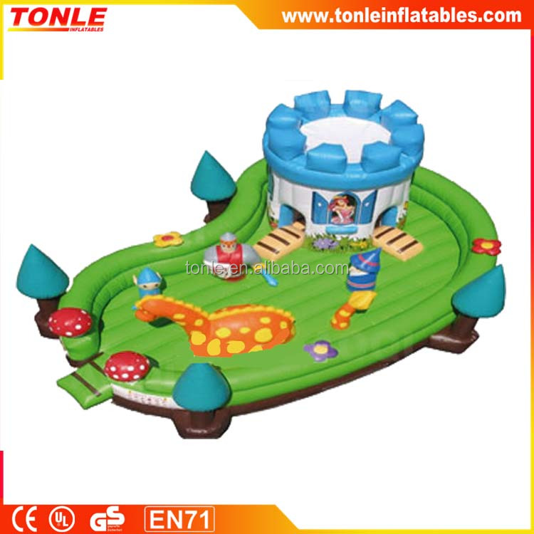 large magic land inflatable toddler zone/ fun city/ Mickey Park Learning Club for sale