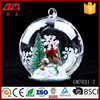 Factory direct sale clear glass craft ball ornaments