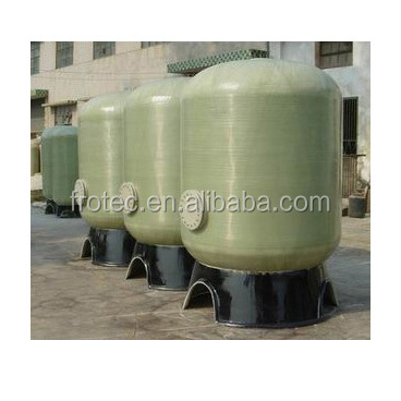 FRP vessel with various size for water treatment/FRP softener tank/FRP tank for pre-treatment