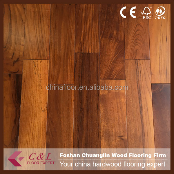 foshan factory Multi-ply asian teak flooring