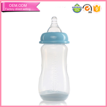 manufacture Temperature Color Change 8 oz baby cup feeding bottle without handle