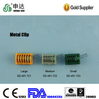 Medical ligating clips Titanium Mental Clip