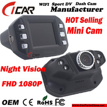 2015 OEM FCC Test On Sale Mini Design Car DVR with IR night vision