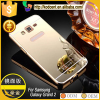 Best price aluminum metal bumper case for samsung galaxy grand 2 g7106