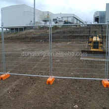 Australia Standard Concrete Base Temporary Construction Site Fence
