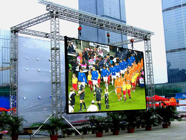 wateproof RGB SMD outdoor led display wall TV screen P10