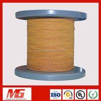 Smart bes 8mm fiber glass coved copper magnet wire for electric motor
