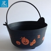 Halloween Plastic Candy Bucket With Handle
