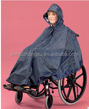 disabled wheelchair rain poncho raincoat