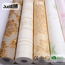 Factory high quality best price latest self-adhesive pvc wallpaper designs