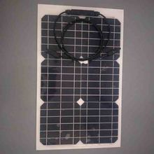 2017 cheap price shenzhen solar panel 30wp rollable pv solar panel price for bangladesh