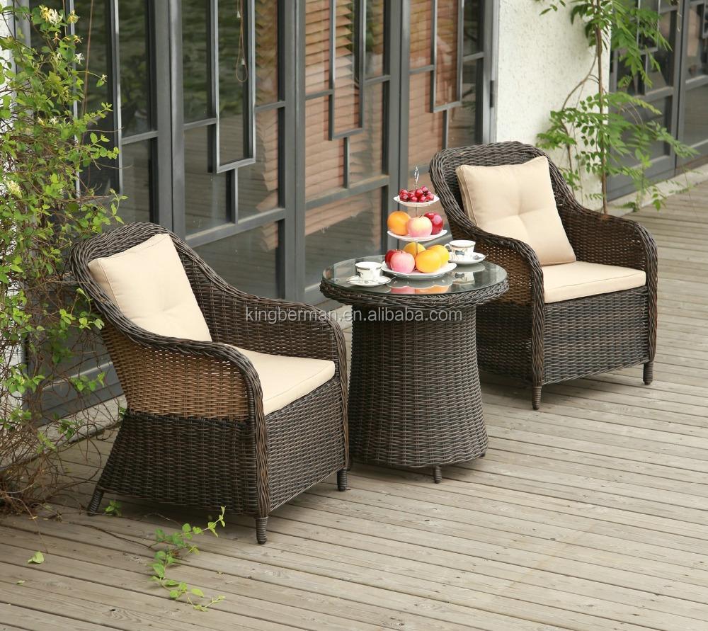 Best Quality Pe Rattan Garden Furniture Set Outdoor Coffee Table Set