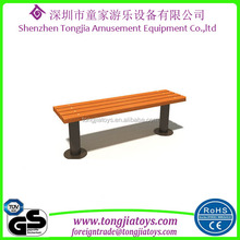 kids outdoor amusement park benches simple wood chair classic wooden bench