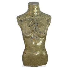 fashion glass mosaic mirror mannequin sales