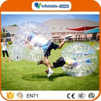 Hot Selling bumper bubble football/cheap bubble ball for sales bubble football soft handle
