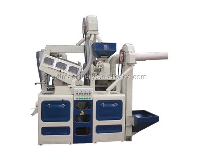 Hot Sale in Nigeria Complete Rice Milling Plant