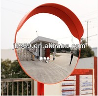 PC mirror&PP frame 24~120cm dia road safety convex mirror