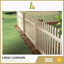 Various Colors Available Good Weatherability Picket Fence High Quality Vinyl Fencing
