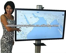 84 inch internet touch all in one PC 3D TV built in touch screen
