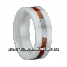 Ceramic glue ring with Integrates design and manufacture