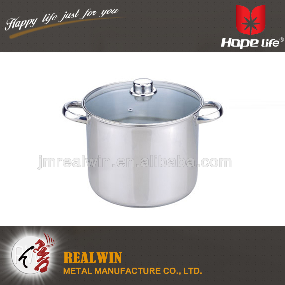Hot selling 2016 industrial soup cooking pot