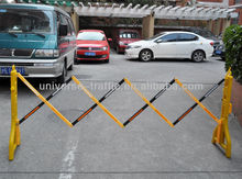 high qualitysafety parking plastic expandable barrier gate