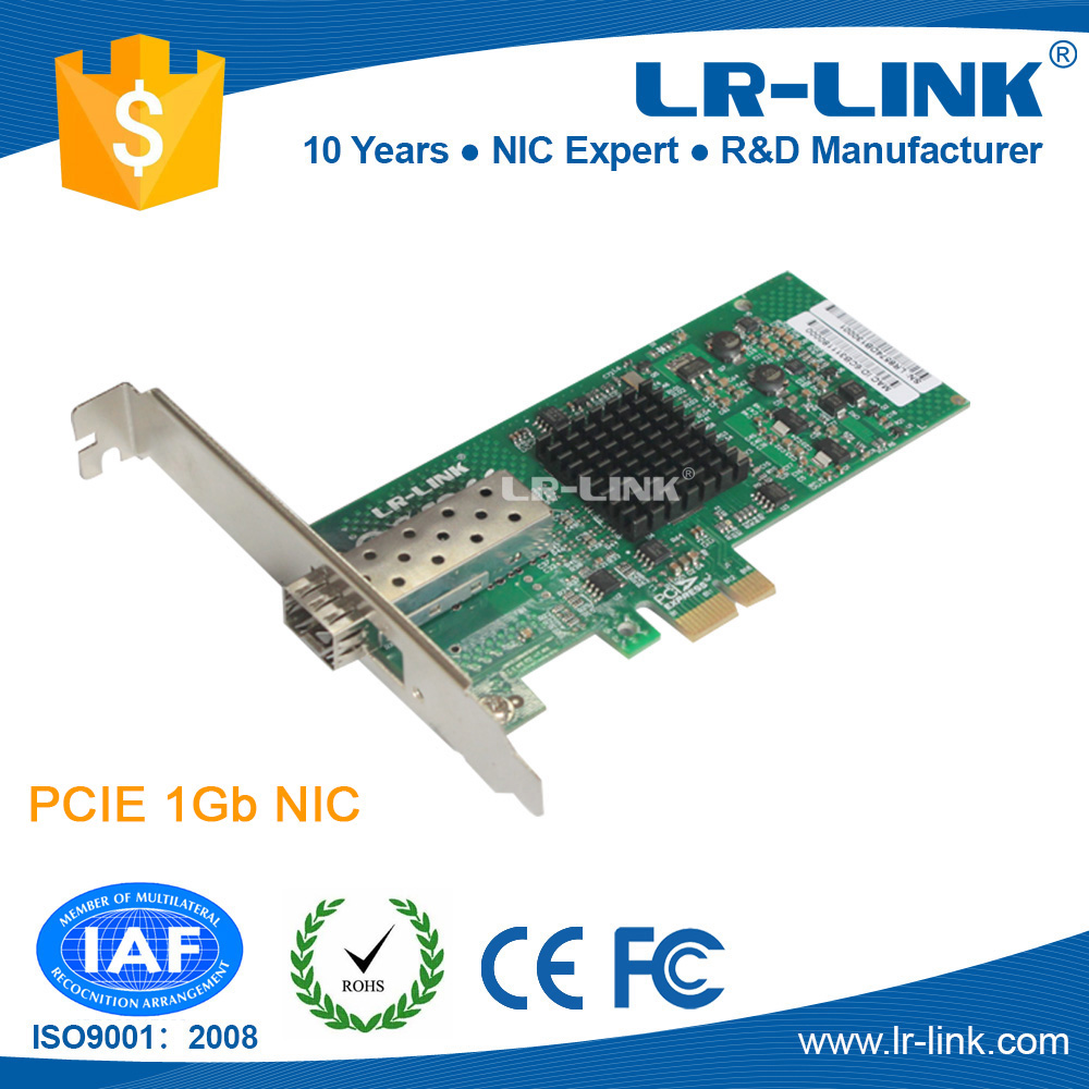 Intel 82574 Chip PCIe Fast Ethernet Card 1000Base-FX SFP Port Fiber Network Adapter
