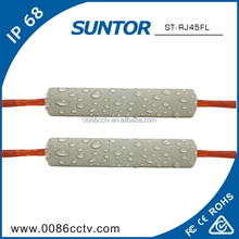Factory price dustproof good quality multi-port angle rj45 connector sheath
