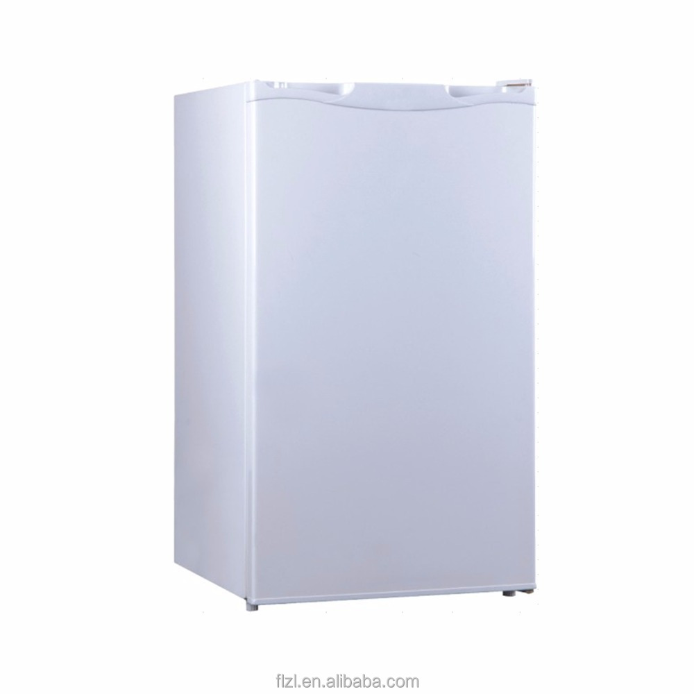108L domestic stand plastic refrigerator used side by side double-door