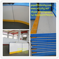 Hard hdpe board for ice rink barrier /Ice hockey pitch fence / floorball board