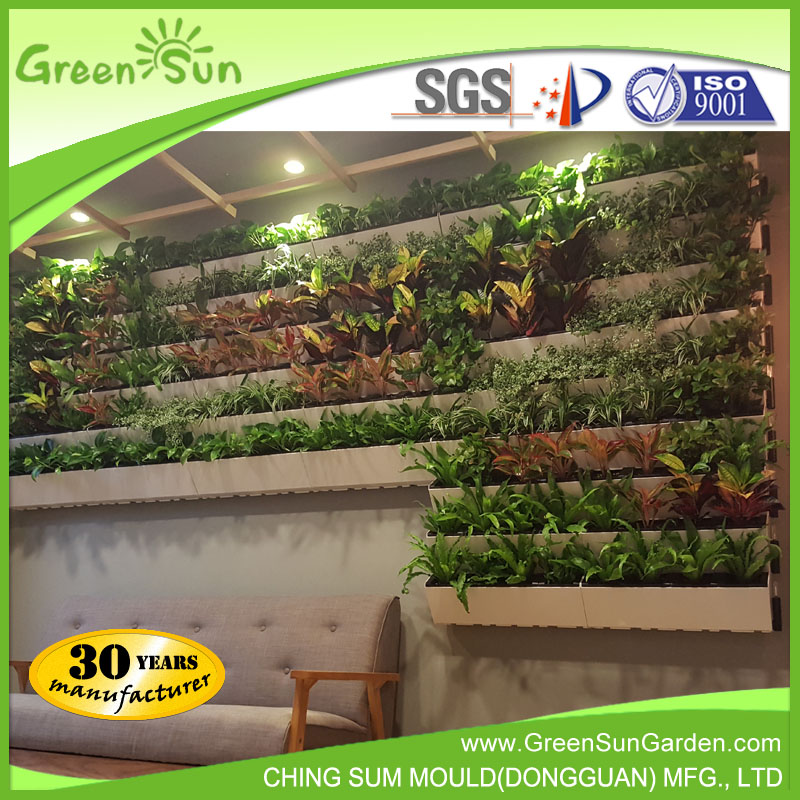 Greensun Hot Sale Self Watering Vertical Garden Green Wall Planter   Buy Vertical  Garden,Green Wall,Wall Planter Product On Alibaba.com