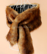 Faux Fur Wrap Cape Shawl for Women's Wedding Dresses