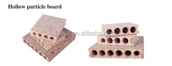FSC hollow core particle board