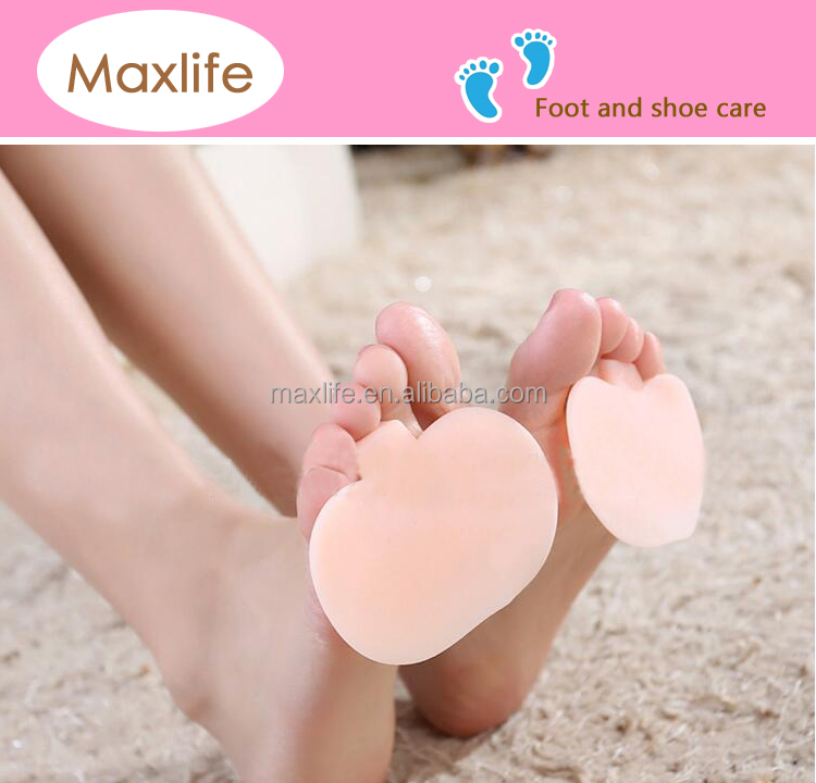 RW1341 RW1343 Comfortable silicon gel bunion toe forefoot massage pad for realign toe joint